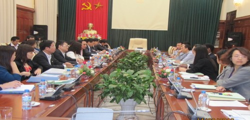Hình ảnh buổi đàm phán Dự án Phát triển bền vững thành phố Đà Nẵng - The images of the negotiation of Danang Sustainable City Development  Project